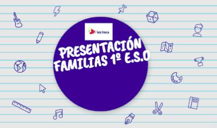 Reunión de familias alumnado nuevo ingreso curso 2021-2022