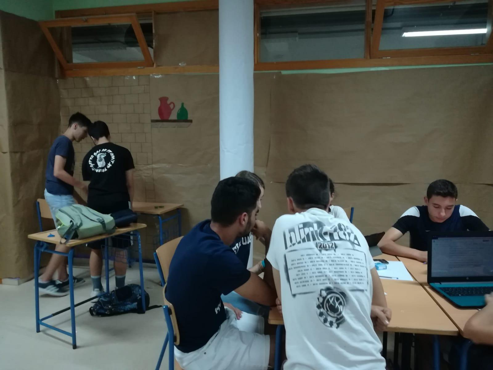 Tarea integrada 2019: empieza el trabajo en los talleres