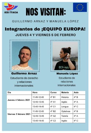 TALLER DE FORMACIÓN EQUIPO EUROPA